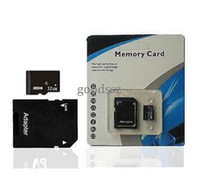 Wholesale 32GB Micro SD Card GB Memory SDHC Card TF Card GB with Adapter retail packaging for Cell Phone MP3 Player Tablet PC etc MOQ