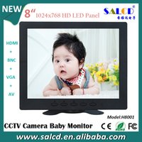 Wholesale manufacture inch led Monitor with AV VGA BNC P HDMI x768 hight native resolution