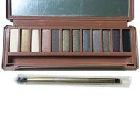 shadow boxes - New Version Classic Nude Makekup Palette Colors Metal Box Smoky Eyeshadow Smoky Eye Shadow European American Cosmetics