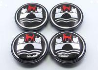 Wholesale Vw wolfsburg golf cart hub caps for wheel center black logo caps