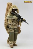 abs scale - Collectible VH Veryhot Toys Scale Model Sniper Ghillie Suit Clothing Accessories For quot Action Figure Kids Toys Gift I