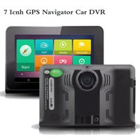 android tablet with gps navigation - New inch Android Tablet PC GPS Navigation WiFi Car DVR Camera Full HD P With Radar Detector Truck Vehicle GPS Navigator