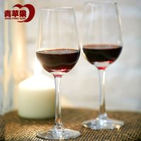 Wholesale Green apple taste wine glass red wine goblet champagne cup glass ml just installed