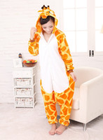 Wholesale Unisex adult Onesies Sleepwear Giraffe onesies Pajamas Cartoon Cosplay Costume Christmas animal pajamas one piece