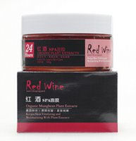 Moisturising acid red wine - Hot Face Care New Red Wine Sleeping Mask Hyaluronic Acid Firming Mask Moisturizing Anti Wrinkle Acne Treatments Mask Skin Care DHL AMZ HJ