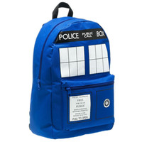 Wholesale Doctor Dr Who Tardis Men s Backpack Good Quality In Stock