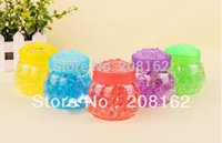 air freshener beads - Colorful Indoor Air Freshener Wardrobe Car Solid Clear Crystal Shape Beads Air Fresheners Deodorant