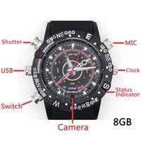 Wholesale 8GB New model camera watch journalist watch with camera can take viedo hot sale watch