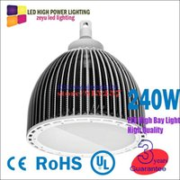 Wholesale Hot led high bay light w Mean well Power led high bay lamp New led canopy light UL Hook High power W watt led high bay lights