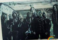 band graphics - Hanging Rock band Slipknot Slipknot Bar Cafe tattoo piano rehearsal decorative paintings cm