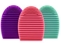 best brush cleanser - New Brushegg Silicone Brush Cleaning Egg Professional Makeup Brush Finger Cleanser best seller