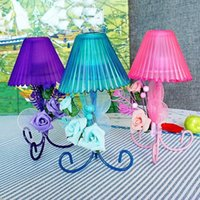 Wholesale 2015 new waste wedding candles wrought iron flower ornaments cafe colors KXA