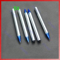 Wholesale 5 X Replaceable Soldering Welding Iron Pencil Tips W