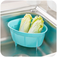 plastic basket - Triangle kitchen sink drain basket plastic storage baskets vegetables basket spam filter basket