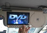 automobile video monitor - 2016 Newest automobile car sun visor monitor dvd and sd and usb video from GPS and any media