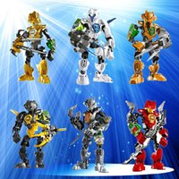 Wholesale Children s building blocks assembled toy robot gift can fit B Star Wars hero factory