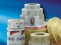label printing - Custom garment clothing printing Labels customised care label wash label