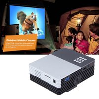 Wholesale Newest GM50 Portable LED Mini Video LCD P D Home Theater Projector Full HD Projector Beamer Projector
