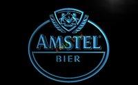amstel light neon - LA024 TM Amstel Beer Bar Neon Light Sign Advertising led panel jpg