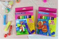 Wholesale Marco coloring sticks child caryons kids darwing set colors rotary oil painting stick Safe and non toxic