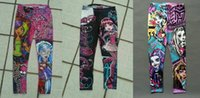 Leggings & Tights girls leggings - 3 design Monster high girls leggings kid cartoon pants Leggings spandex pairs