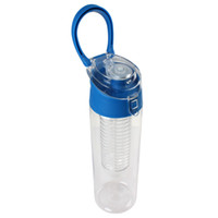 stainless steel water bottle - 3PCS ml Fruit Infuser Water Bottle Water Infusion Bottle with Flip Lid Colors Optional CYC_347