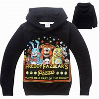 cotton night shirt - 3 Colors Five Nights at Freddy s Spring Kids Boys Clothing To Years Children Hoodies Sweatshirt Clothes Cotton Children Kids Boys Shirts