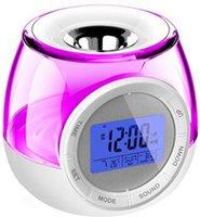 aroma alarm clock - Aroma heater and livingcolors light Digital Alarm Clock LED Colorful Changing Light with Aroma Diffusing LED Alarm Clock Timer