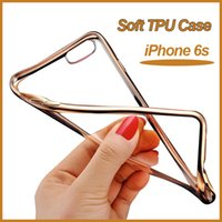 iphone 5 case - Ultra Thin Gel Electroplating Soft TPU Skin Silicone Cover Case For iPhone S S plus Samsung Galxy S7 S6 edge plus Note MOQ