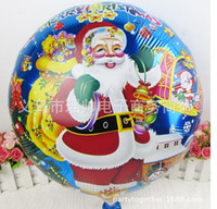 Wedding air free helium - 2015 New arrival christmas balloons inch foil helium air balloon for christmas party decoration wholesales DHL styles