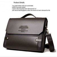 Wholesale Fashion Men Bags New Desige PU Leather Men Male Bag Office Bags Briefcase Business Shoulder Men Messenger Bags M003