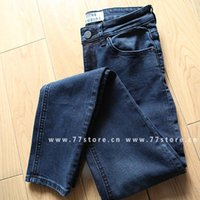 acne jeans - Hot sale comfortable fashion classic fantastic elastic Women ACNE skinny jeans close fitting pants