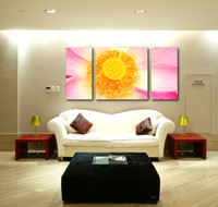 art craft pictures - Free ship Flower Pictures Oil Painting On Canvas Wall Art Crafts Printing Sticker Living Room Home Decoration JEP