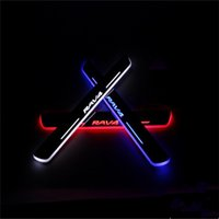 Wholesale Car Styling for Toyota RAV4 moving lighting LED pedal pathway Front door Side Step welcome lamp