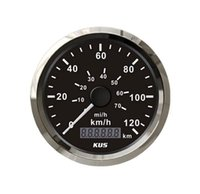 Wholesale Kus mm pointer sylte speedometer for engine marine generator truck yacht motorcycle boat car instrument accessories pc km h