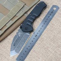Wholesale High Quality Medford Praetorian Stonewash Steel G10 Handle Folding Camping Outdoor Mountaineering pockets Knife EDC tool Knives