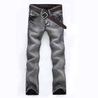 branded jeans - 2015 Vintage Winter Men s Slim Fit Designer Jeans Famous Brand Denim Pants Jeans for Men Fashion Casual Design Denim Jeans