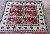 Wholesale Supply Christmas blanket draped class cotton jacquard sofa towel decorative painting