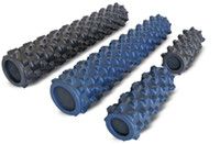 Wholesale High Density Yoga Grid Foam Rumble Roller Crossifit Gym Fitness Massager for Tight Muscles
