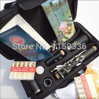 Wholesale 17 key B flat clarinet free box and reeds as gift level of playing the clarinet Musical Instruments