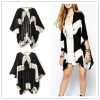 cotton batting - 2015 New Fashion Runway Hippie Boho Women Summer Sun protection Coat Lady casual loose kimono cardigan