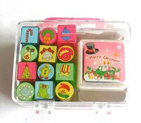 acrylic paint crafts - Mixed Christmas Stamper Christmas Toys Christmas Crafts Kids Toys Paint Toys Santa Crafts