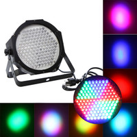 Wholesale Professional RGB LED Effect Light DMX512 CH Par Lights DMX Disco DJ Stage Light DHL H9409