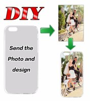 add case - Add custom logo DIY Custom Art Print Case Custom made company logo Photo picture D cartoon Cover cases for iPhone s s plus PLUS