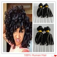 Wholesale Unprocessed funmi hair Brazilian Virgin Hair curly Aunty Funmi Hair human hair