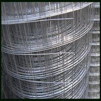 Wholesale 75mm Welded Wire Mesh Fence Used For Horse Cattle Sheep Field Electro Galvanized Iron Wire Material