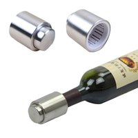 Wholesale Hot Selling Stainless Steel Vacuum Sealed Red Wine Bottle Spout Liquor Flow Stopper Pour Cap wine stopper