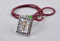 angels lanyard - 2015 Pendant Necklaces Selling Unisex Fantasias Trade Jewelry Wild Section Cross Amulet Beads Lanyards Necklace Enamel Buckle C1353 C1354