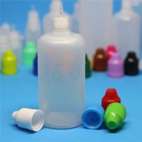 Wholesale 600pcs Colorful ml Empty Bottle Soft Style PE Plastic Dropper Bottles with Long and Thin Tips Childproof Caps