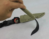 airsoft knife - US Tactical AC plastic model decoration soft knife for Army Airsoft Hunting Training Survival Cosplay Black